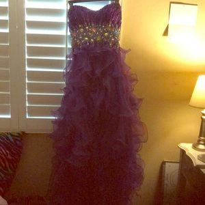 A quinceañera dress
